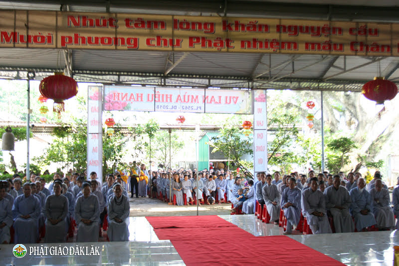 Huyện CưMgar: Chùa Tây Trúc tổ chức lễ Vu Lan Báo Hiếu PL.2562-DL.2018