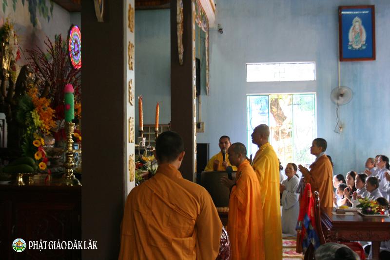 Huyện CưMgar: Khoá tu Bát Quan Trai Giới toàn huyện tại chùa Bửu Quang
