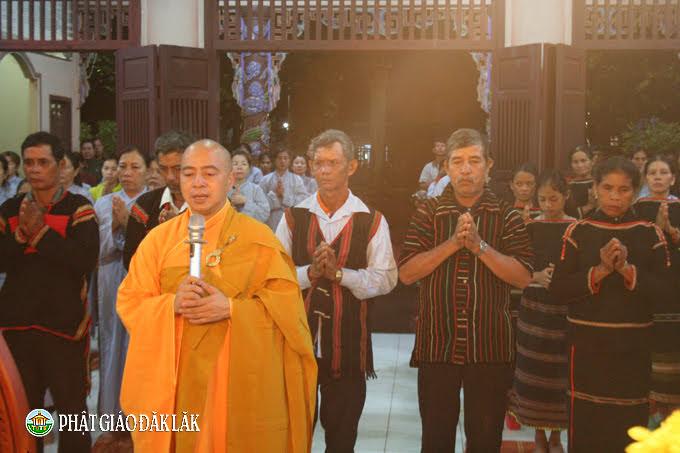 Lễ tưởng niệm Chủ tịch nước Trần Đại Quang tại chùa Hoa Nghiêm, huyện CưMgar