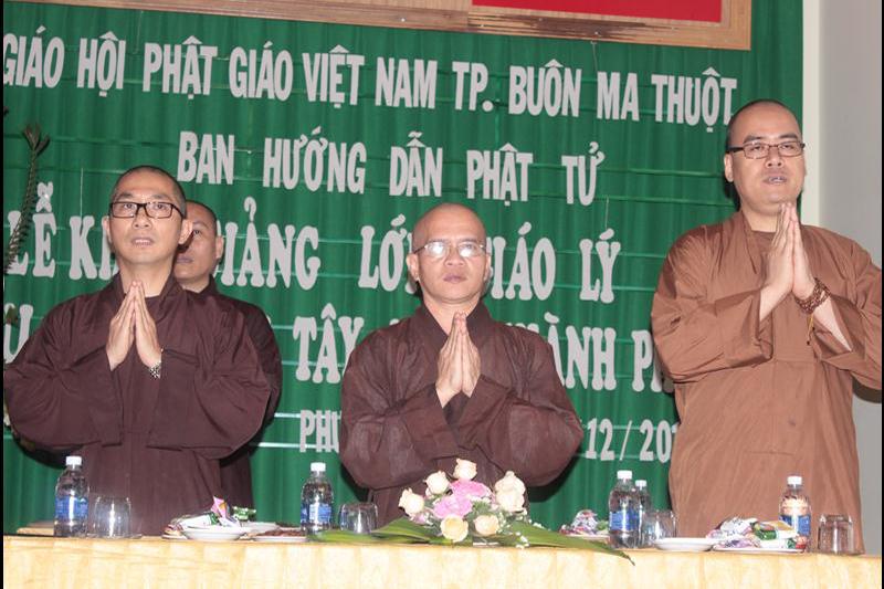 Khai giảng lớp giáo lý khu vực Tây Nam thành phố Buôn Ma Thuột