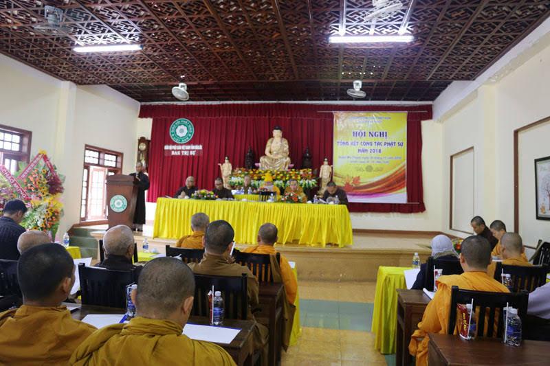 Ban Trị sự Phật giáo Thành phố Buôn Ma Thuột tổng kết công tác Phật sự năm 2018