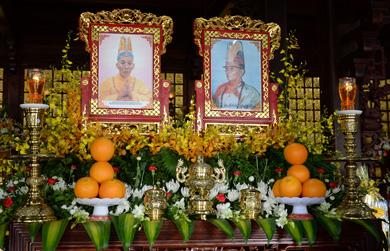Lễ tưởng niệm và húy nhật nhị vị Hòa thượng đệ nhất và Đệ ngũ trụ trì Chùa sắc Tứ Khải Đoan