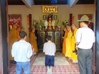 Lễ kỹ niệm ngày hạnh Ngành Nữ GĐPT chùa Hoa Nghiêm