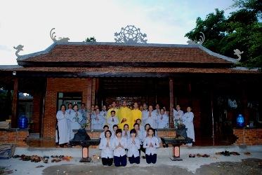 Huyện Krông Năng Gia Đình Phật Tử KimQuang  Tổ Chức Lễ An Vị Chư Thánh tử Đạo