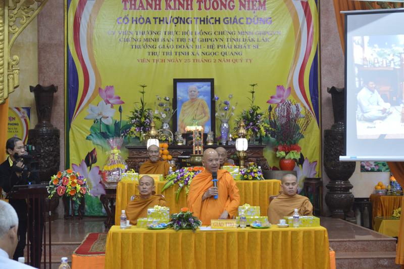 Lễ tri ân Giáo thọ Sư tại tịnh xá Ngọc Quang - TP Buôn Ma Thuột