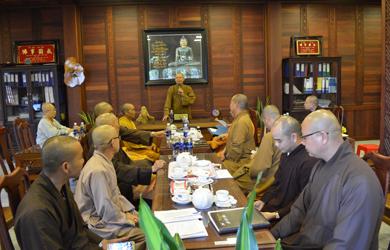 Phiên họp Ban Trị sự GHPGVN tỉnh DakLak