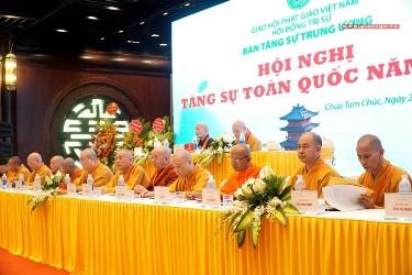 Hà Nam: Khai mạc Hội nghị Tăng sự toàn quốc năm 2020