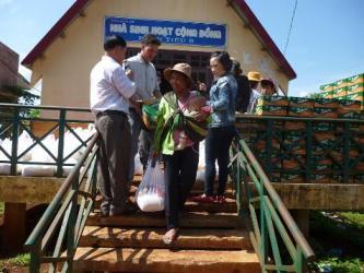 Ban Từ Thiện Xã Hội Phật giáo Huyện Ea Hleo.