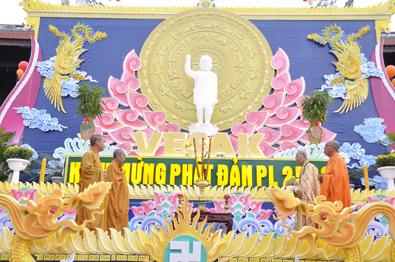 BTS Phật giáo tỉnh tổ chức Đại lễ Phật đản Vesak PL.2563 - DL.2019