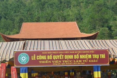 Lễ Bổ Nhiệm Trụ Trì Thiện Viện Trúc Lâm Từ Giác huyện Krông Păc