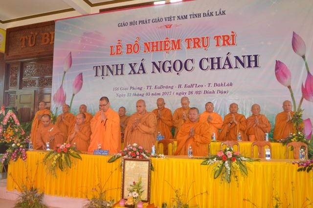 Lễ Bổ Nhiệm Trụ Trì Tịnh Xá Ngọc Chánh huyện EaHleo