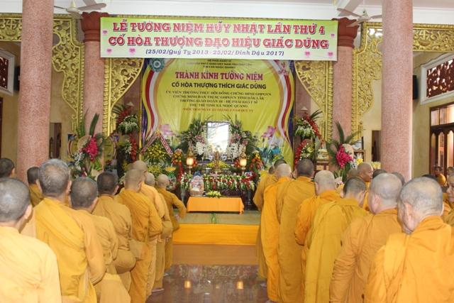 Lễ Tưởng Niệm lần thứ 4 cố Hòa Thượng đạo hiệu Giác Dũng tại Tịnh Xá Ngọc Quang