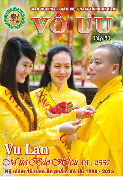 Tập San Vô Ưu số 51 - Vu Lan Mùa Báo Hiếu 2557