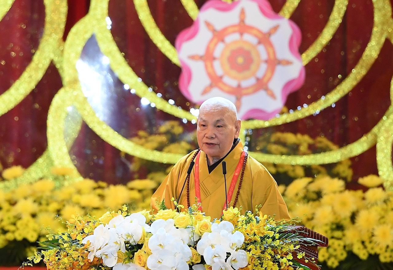 Diễn văn Đại lễ Phật đản PL.2563 của Hoà thượng Chủ tich HĐTS GHPGVN