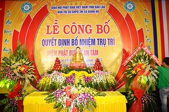 Lễ bổ nhiệm trụ trì Niệm Phật Đường An Tâm – Thị xã Buôn Hồ