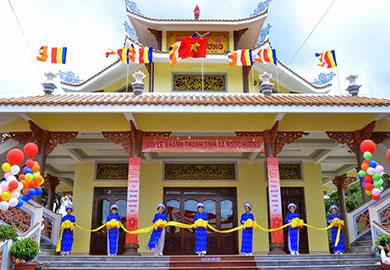 Lễ Khánh Thành Tịnh Xá Ngọc Hương, xã Cư Ebur – TP Buôn Ma Thuột