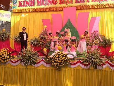 Đại Lễ Phật Đản Tại Thị Xã Buôn Hồ PL.2559