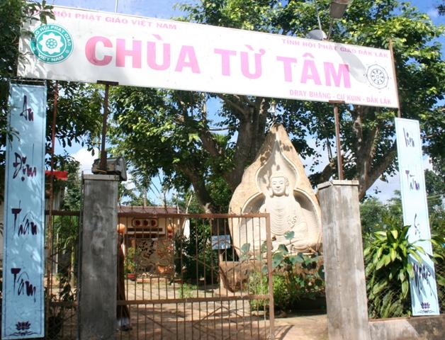 Đăk Lăk: Lịch sử Chùa Từ Tâm tọa lạc tại huyện Cư Kuin