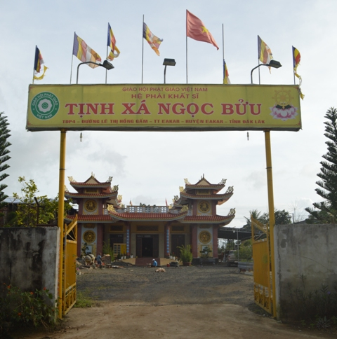 Đăk Lăk: Lịch sử Tịnh xá Ngọc Bửu tọa lạc tại huyện EaKar