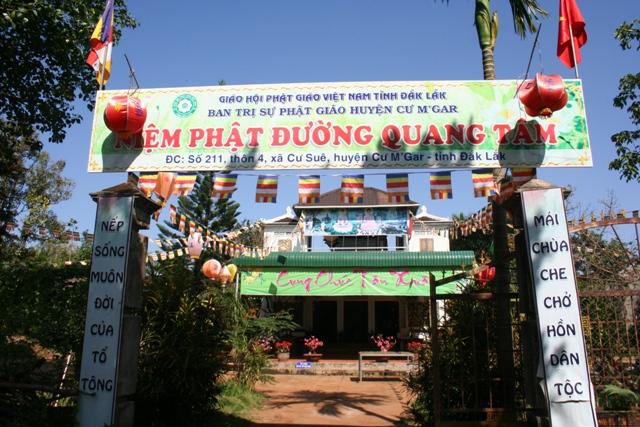 Đăk Lăk: Lịch sử Niệm Phật đường Quang Tâm tọa lạc tại huyện CưM