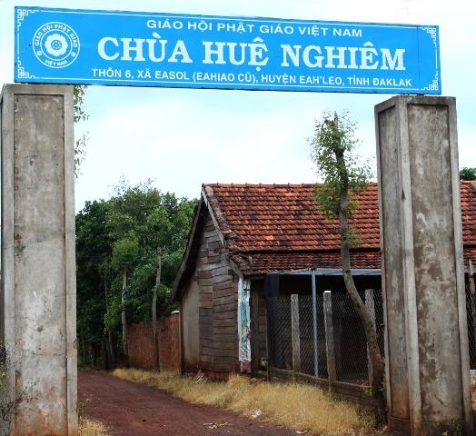 Đăk Lăk: Lịch sử Chùa Huệ Nghiêm tọa lạc tại huyện EaHleo
