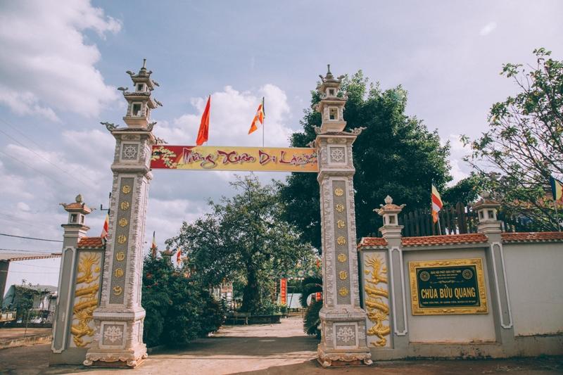 Đăk Lăk: Lịch sử Chùa Bửu Quang tọa lạc tại huyện CưM