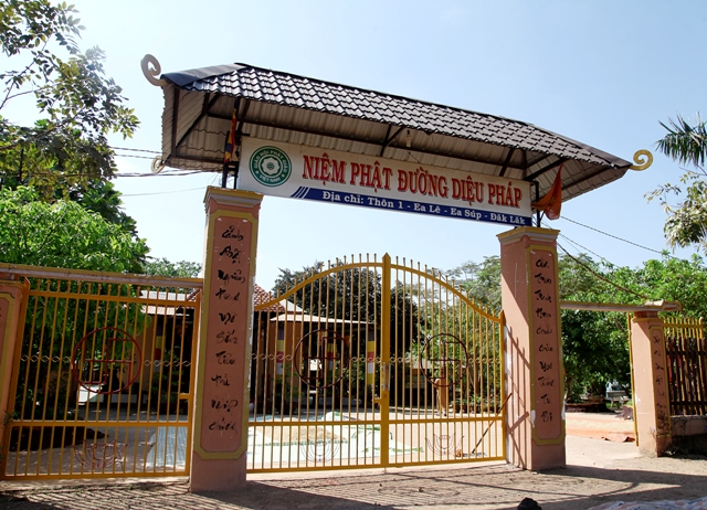 Đăk Lăk: Lịch sử Niệm Phật Đường Diệu Pháp tọa lạc tại huyện Easup