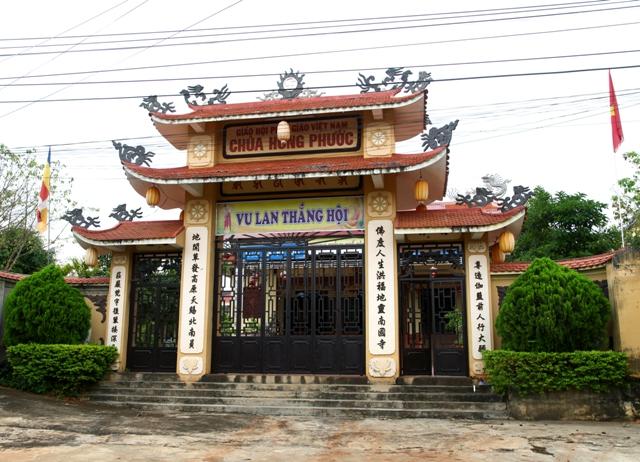 ĐăkLăk: Lịch sử Chùa Hồng Phước tọa lạc tại Thành phố Buôn Ma Thuột
