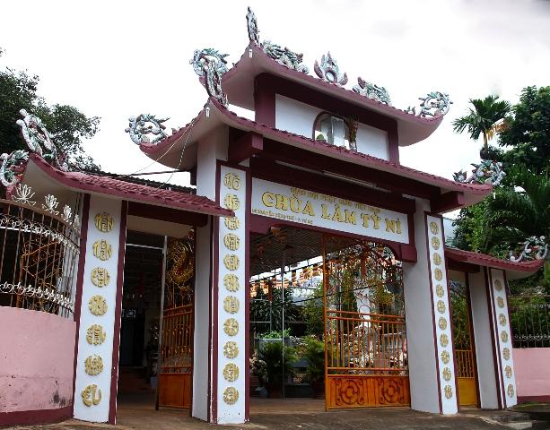 ĐăkLăk: Lịch sử Chùa Lâm Tỳ Ni tọa lạc tại Thành phố Buôn Ma Thuột