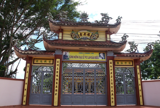Đăk Lăk: Lịch sử Chùa Phước An tọa lạc tại huyện Krông Păk