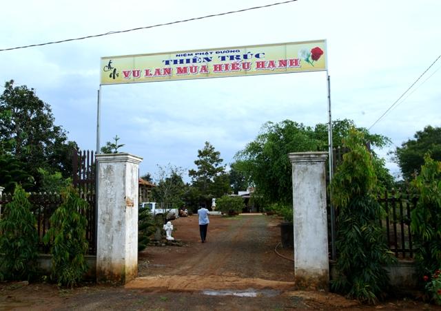 Đăk Lăk: Lịch sử NPĐ Thiên Trúc tọa lạc tại huyện Krông Năng