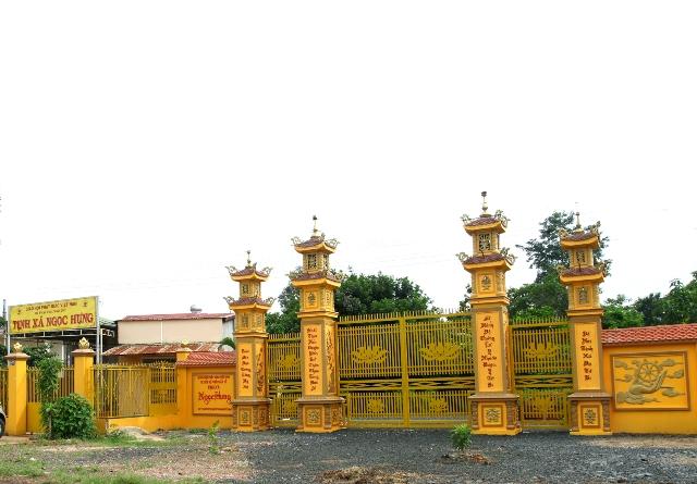 ĐăkLăk: Lịch sử Tịnh xá Ngọc Hưng tọa lạc tại Thành phố Buôn Ma Thuột