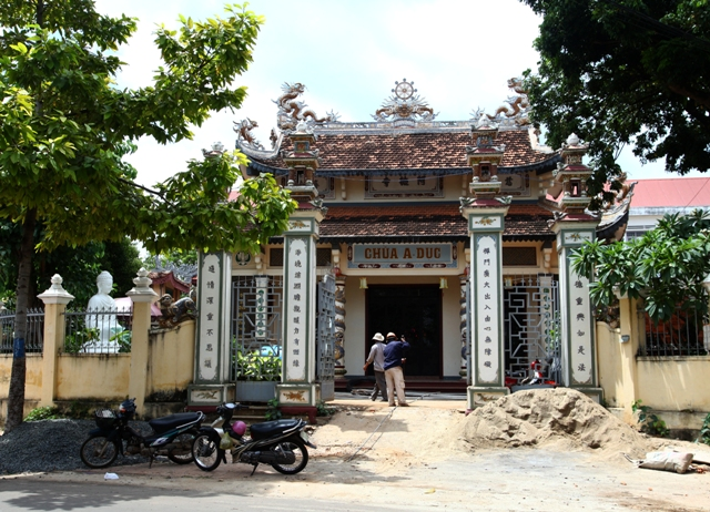 Đăk Lăk: Lịch sử Chùa A Dục tọa lạc tại Thành phố Buôn Ma Thuột.