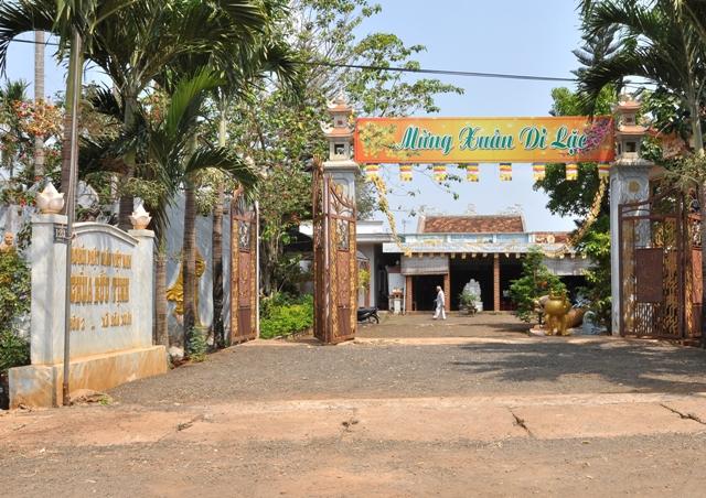 Đăk Lăk: Lịch sử Chùa Bửu Tịnh tọa lạc tại Thành phố Buôn Ma Thuột.