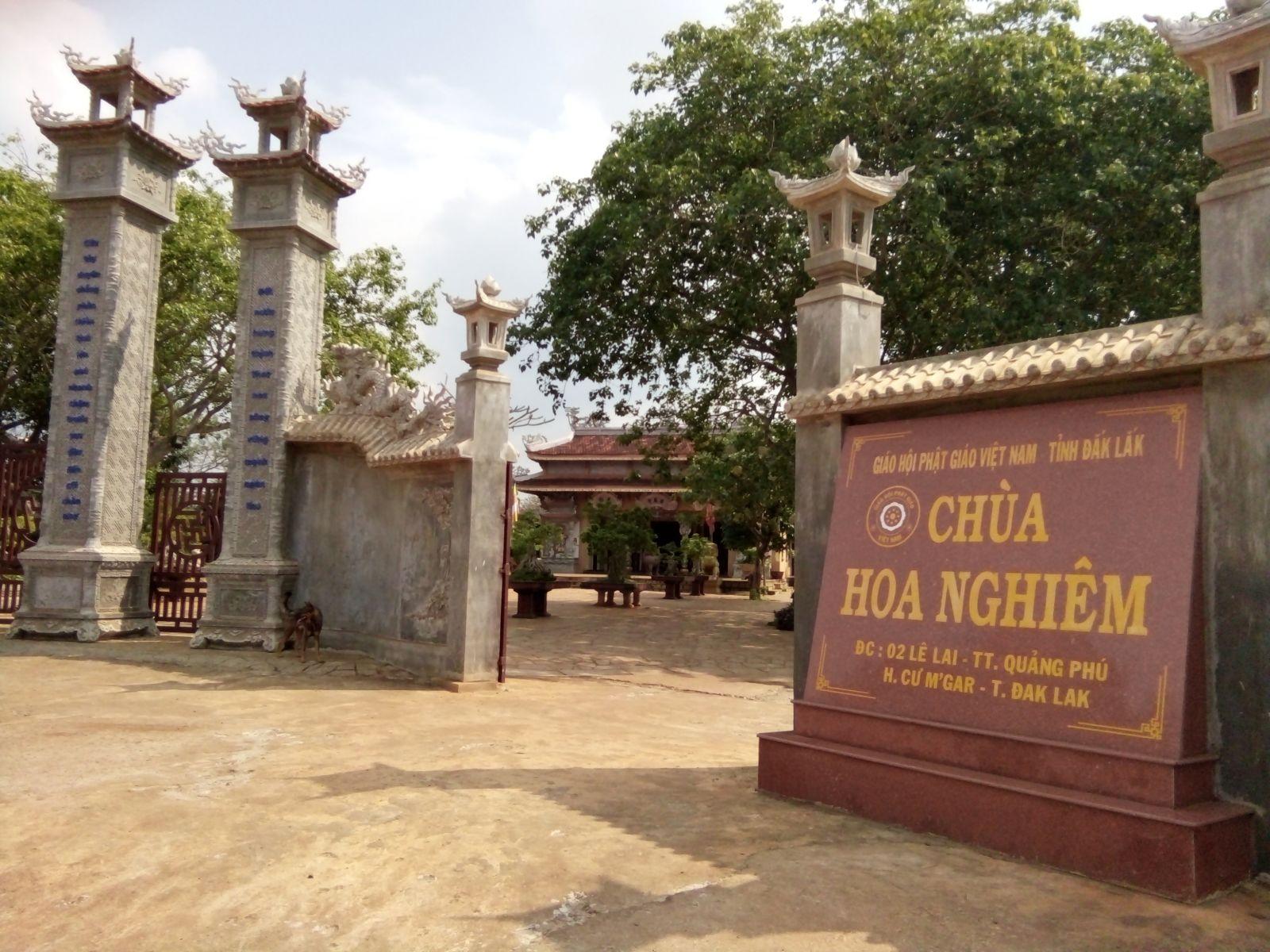 Đăk Lăk: Lịch sử Chùa Hoa Nghiêm huyện CưM