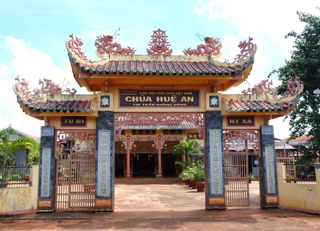 Đăk Lăk: Lịch sử Chùa Huệ An tọa lạc tại huyện Krông Năng