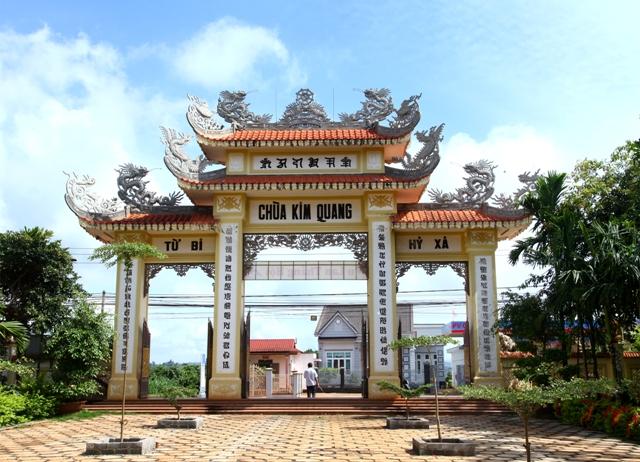 Đăk Lăk: Lịch sử Chùa Kim Quang tọa lạc tại huyện Krông Năng