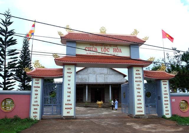 Đăk Lăk: Lịch sử Chùa Lộc Hòa tọa lạc tại huyện Krông Năng