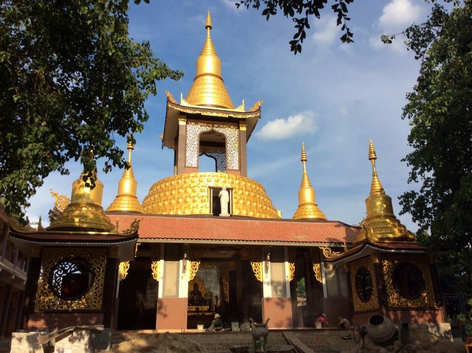 Chùa Phổ Quang tọa lạc tại Thôn Tiến Đạt - xã Quảng Tiến-huyện CưM'gar.