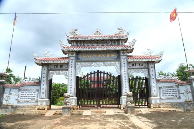 Đăk Lăk: Lịch sử Chùa Phước Bình tọa lạc tại huyện Krông Păk