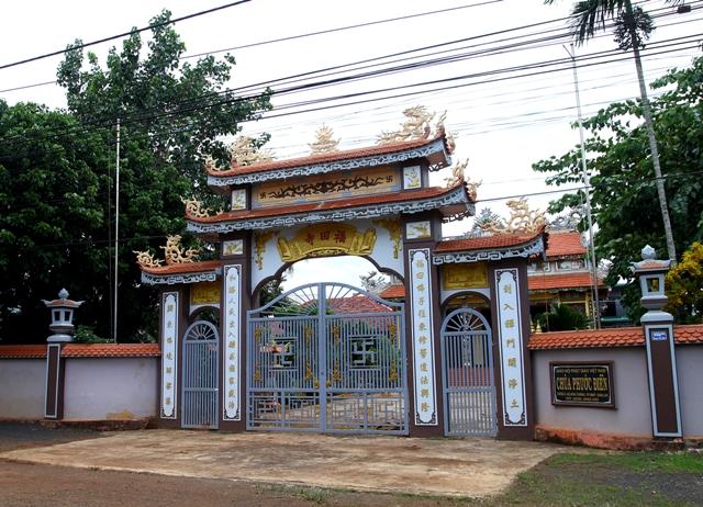 Đăk Lăk: Lịch sử Chùa Phước Điền tọa lạc tại Thành phố Buôn Ma Thuột