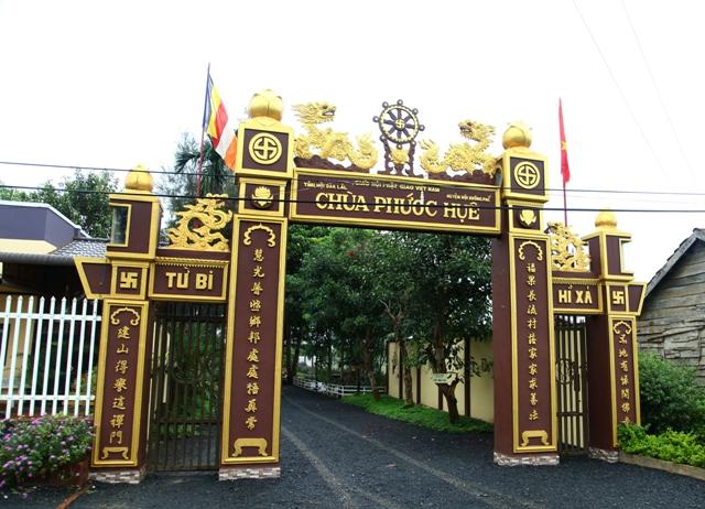 Đăk Lăk: Lịch sử Chùa Phước Huệ tọa lạc tại huyện Krông Păk
