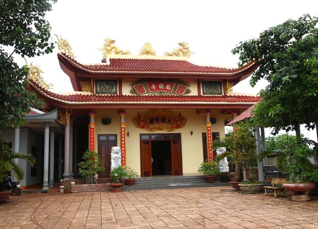 Đăk Lăk: Lịch sử Chùa Phước Minh tọa lạc tại Thành phố Buôn Ma Thuột.