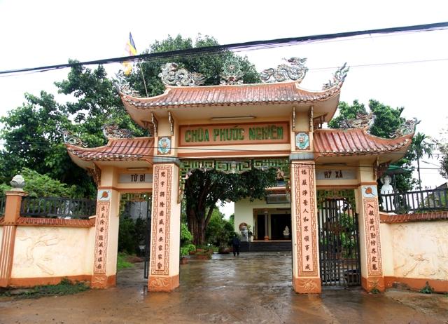 Đăk Lăk: Lịch sử Chùa Phước Nghiêm tọa lạc tại huyện Krông Păk
