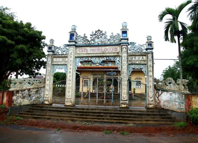 Đăk Lăk: Lịch sử Chùa Phước Quang tọa lạc tại huyện Krông Păk