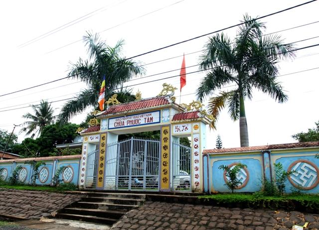 Đăk Lăk: Lịch sử Chùa Phước Tâm tọa lạc tại huyện Krông Ana.