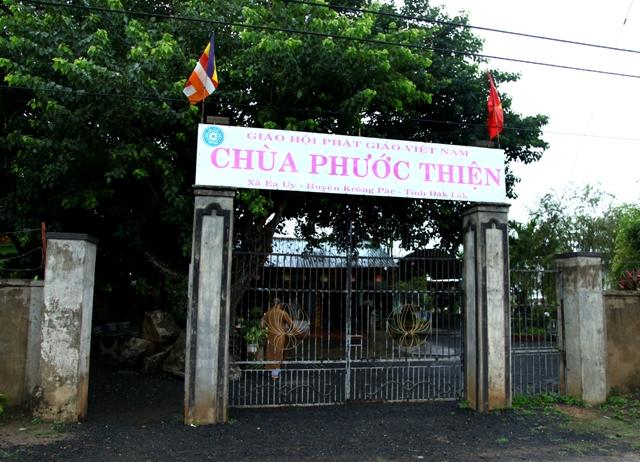 Đăk Lăk: Lịch sử Chùa Phước Thiện tọa lạc tại huyện Krông Păk