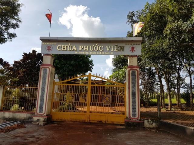 Đăk Lăk: Lịch sử Chùa Phước Viên tọa lạc tại huyện EaHleo
