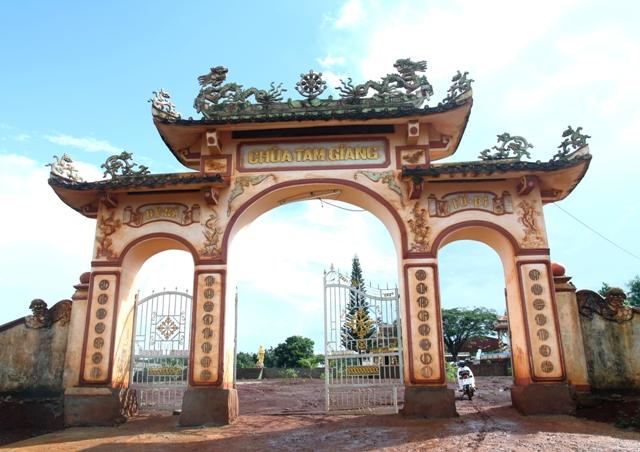 Đăk Lăk: Lịch sử Chùa Tam Giang tọa lạc tại huyện Krông Năng