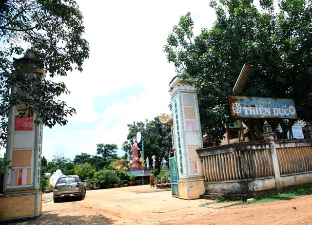 Đăk Lăk: Lịch sử Chùa Thiện Đức tọa lạc tại huyện Krông Ana.
